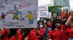 May Day, 200 Ribu Buruh Demo SBY